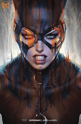 Catwoman # 2 Artgerm Variant Edition Dc Comics August 2018 Sold Out !!!