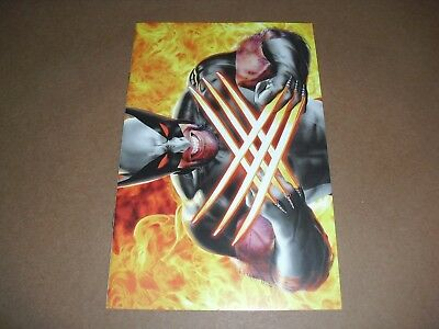 Return of Wolverine NYCC Exclusive KRS Virgin Variant NM COND! Mike Mayhew A19
