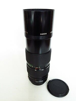 Canon Fd 80-200Mm F/4  Manual Focus Two Touch Zoom Lens In Good Shape