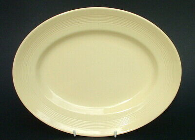 Vintage Wood Woods & Sons Ware Yellow Jasmine Breakfast Plates 22.5cm - in VGC