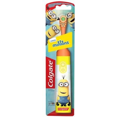 Colgate Minions Brosse À Dents Extra Douce - Battery Toothbrush Soft Powered