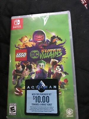 LEGO DC Super Villains - Nintendo Switch - Standard Edition - NEW/SEALED (B9)