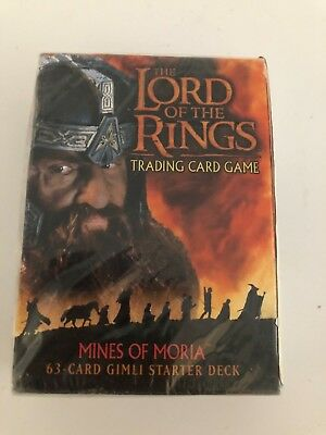 Lord Of The Rings Kartenspiel Thema Starter Deck Minen von Moria Gandalf