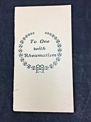To One with Rheumatism Magic Foot Draft Co Medical Testimony Brochure (B32)
