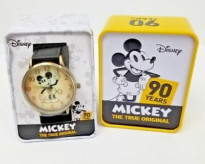 Disney Mickey Mouse 90th Anniversary Commemorative Pocket Watch Disneyana Pocket Watches new