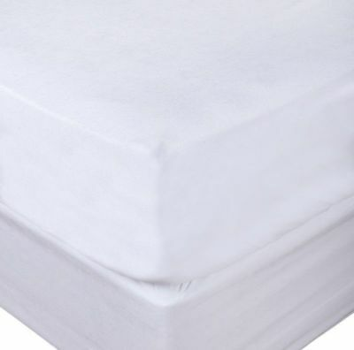 Fitted Pvc Vinyl Waterproof Mattress Protector Cover Sleep Safe