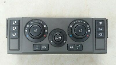 Land Rover Discovery 3 HSE Heater Control Unit HEVAC Heated Seat Buttons Rear AC