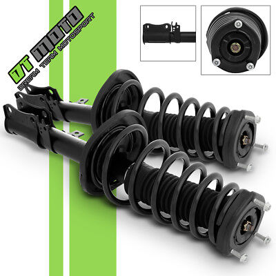 PAIR (2) Rear Complete Strut & Coil Spring For 08-12 Toyota Avalon 07-11 Camry