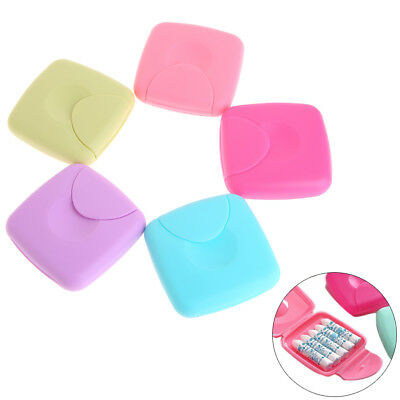 Portable Women Sanitary Napkin Tampons Storage Box Candy Color Container Holder