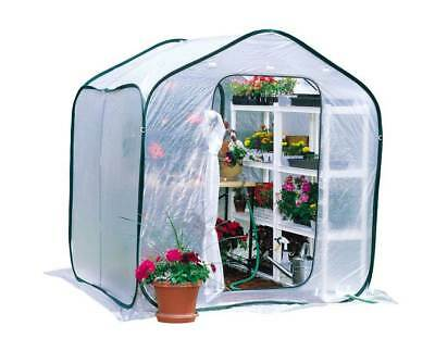 Large Garden Greenhouse with Plastic Wind Roof [ID 3060]