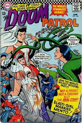Doom Patrol (1st Series) #104 1966 VG 4.0 Stock Image Low Grade