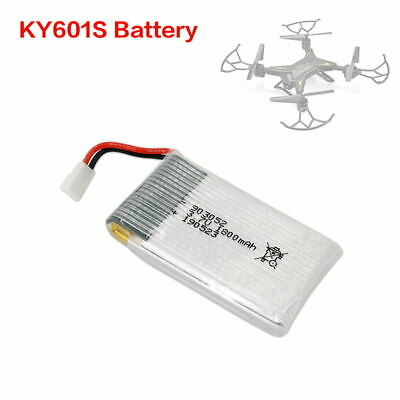 KY601S Drone Battery 3.7V 1800mAh Batteries 4 in 1 USB Charger RC Toy Accessory