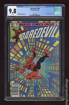 Daredevil (1st Series) #186 1982 CGC 9.8 1497250019