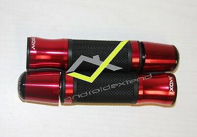 Kymco Downtown / Xciting Anodized Cnc Grips + End Bars (Complete Set)