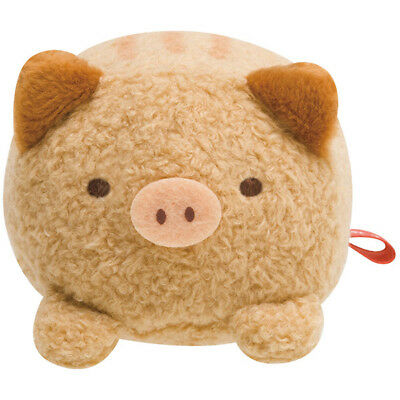 Sumikko Gurashi Tonkatsu Fried Pork mini Plush Doll Boar San-X Japan New Year