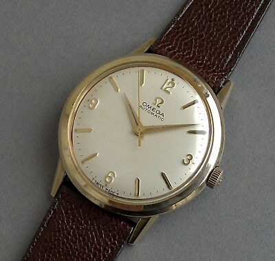 OMEGA 10K Gold Filled Gents Vintage Automatic Watch 1965