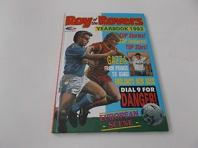 roy of rovers book 1992 annual xmas gift