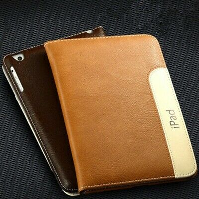"For iPad 6th Gen 2018 9.7"" Case Luxury Smart Stand Leather Cover Heavy Duty Flip"