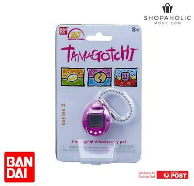 Bandai Tamagotchi 20th Anniversary Series 2 Chibi Translucent Purple With White