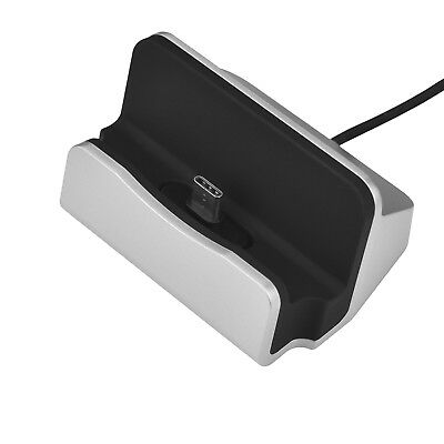 Charging Dock Station Holder Stand Docking Charger for Letv Xiaomi Silver AH
