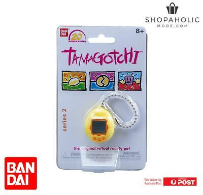 Bandai Tamagotchi 20th Anniversary Series 2 Chibi Yellow with Orange