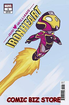 Ironheart #1 (2018) 1St Printing Skottie Young Baby Variant Cover Marvel ($4.99)