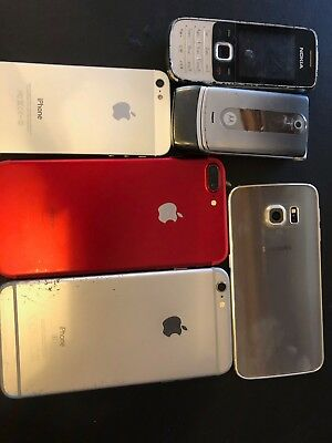 Lote I Phone 7 Plus Iphone 4 Y Samsung S7 Edge