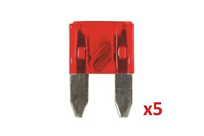 10Amp Mini Blade Fuse Pk 5 | Connect 36836