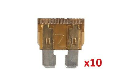 Connect 36824 7.5amp Standard Blade Fuse Pk 10