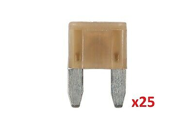 7.5Amp Led Mini Blade Fuse Pk 25 Connect 37170