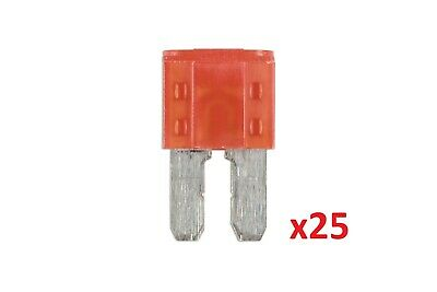 10Amp Led Micro 2 Blade Fuse Pk 25 Connect 37180