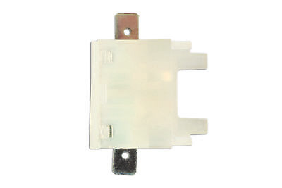 Standard Blade Fuse Holder (White) With Tabs Pk 1 Connect 36858