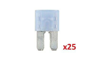 Connect 37181 15amp LED Micro 2 Blade Fuse Pk 25