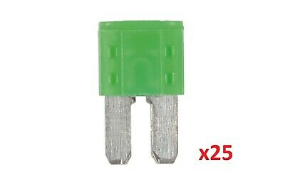 30Amp Micro 2 Blade Fuse Pk 25 | Connect 37166