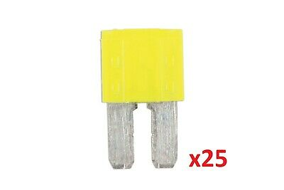 Connect 37182 20amp LED Micro 2 Blade Fuse Pk 25