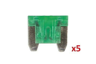 30Amp Low Profile Mini Blade Fuse Pk 5 Connect 36850