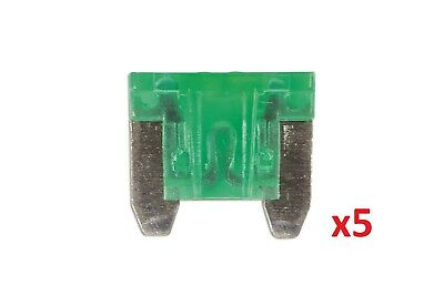 Connect 36850 30amp Low Profile Mini Blade Fuse Pk 5