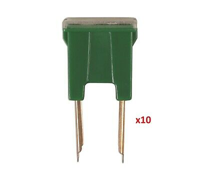 Connect 30471 Male Pin PAL Fuse 40-amp Pk 10