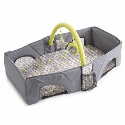 Portable Baby Bed Changing Diaper Sleeping Mattress Folding Airplane Car Set NEW