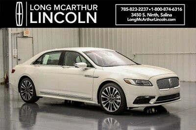 2018 Lincoln Continental RESERVE AWD 2.7 V6  ALL WHEEL DRIVE MSRP $64290 CONTINENTAL TECHNOLOGY PACKAGE CONTINENTAL CLIMATE PACKAGE