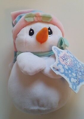 Precious Moments Tender Tails stuffed snowman bean NEW THERE'S SNOW ONE LIKE YOU