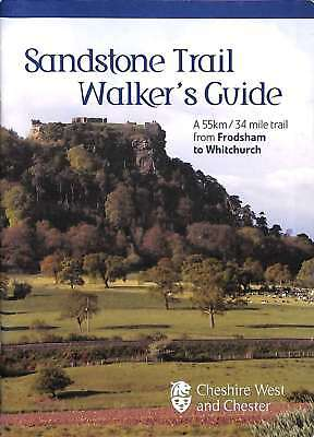 Sandstone Trail Walker's Guide, Cheshire West and Chester, Good Condition Book,