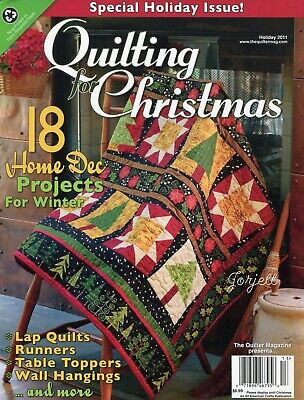 Quilting for Christmas Holiday 2011 ~ 18 quilt sewing patterns