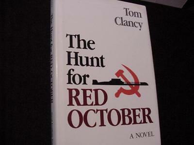 The Hunt for Red October by Tom Clancy (1984, Hardcover, Anniversary)