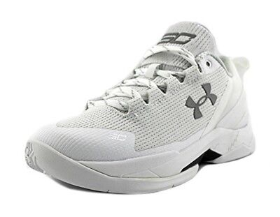 383c37f00bba UNDER ARMOUR BGS CURRY 2 The Storm Kids Shoes 1270817-052 Aluminum ...