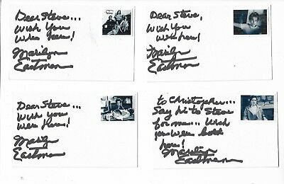 Marilyn Eastman Signed Authentic 3x5 Index Card Night of the Living Dead