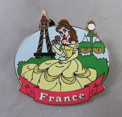 Disney WDW Pin - Epcot World Showcase - Belle at the France Pavilion