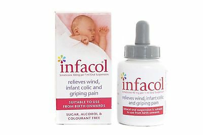 Infacol Suspension Baby Colic Relief Drops | 1 x 50 ml Single Box Pack Free Post