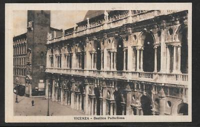 24x36 1940s Vicenza Italy Basilica Palladiana Vintage Style Travel Poster