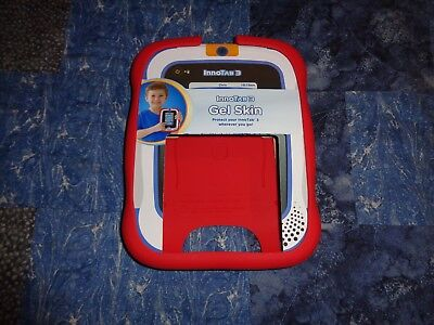 Genuine Vtech InnoTab 3 Protective Gel Skin Case Cover Red Brand New